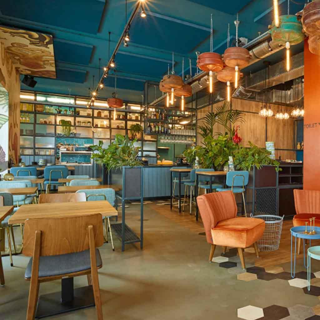 Horecameubilair voor restaurant, bar, hotel en meer.