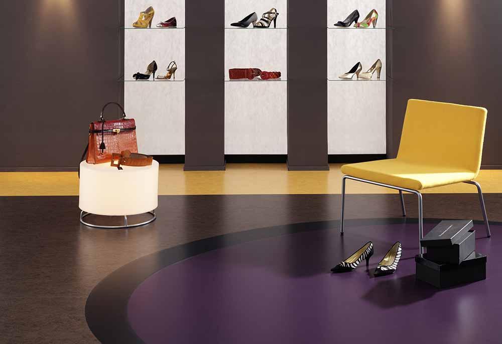 linoleum vloer voor winkel en retail