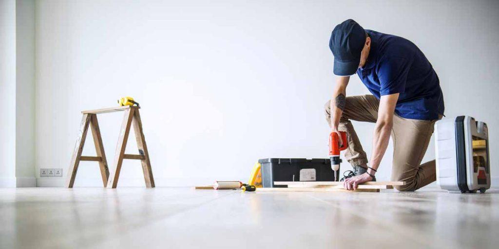 reparatie en onderhoud van pand