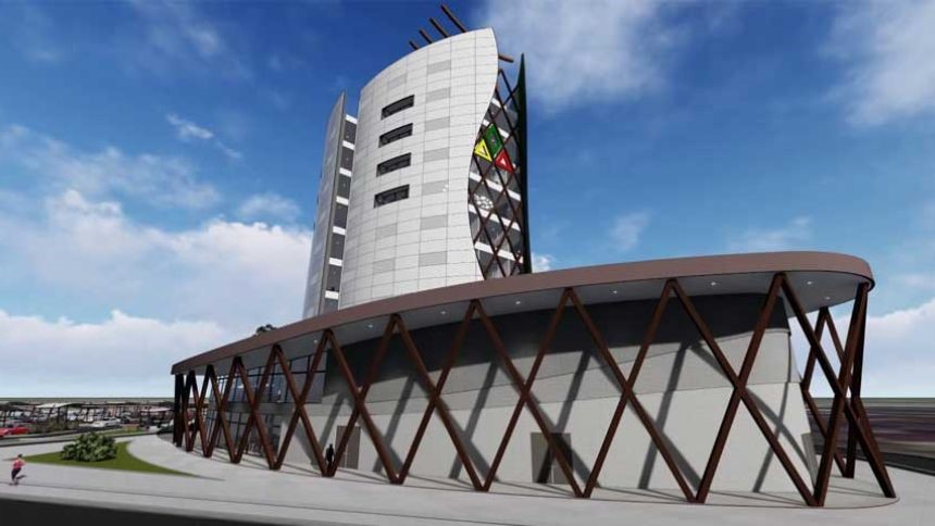 Inrichting Assuria Highrise gebouw in Paramaribo